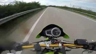 9. Street Triple Acceleration 0-200km/h