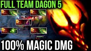 Video TEAM 100% MAGIC DAMAGE - Dagon 5 Combo Dota 2 Patch 7.07 Cancer Turbo Gameplay MP3, 3GP, MP4, WEBM, AVI, FLV Desember 2018