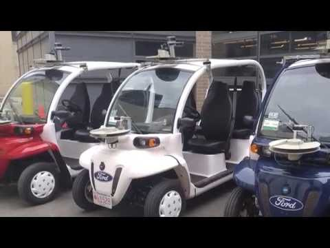 Ford and MIT MOD On-Demand Electric Vehicle Shuttles | AutoMotoTV
