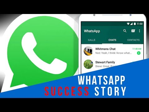 WhatsApp Success Story Video in Hindi | How it made billions in 4 years