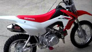 9. Honda CRF110F Yoshimura RS-2 Exhaust Two Brothers Billet Footpegs BBR - Honda of Chattanooga TN