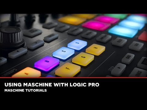 MMS : MASCHINE TUTORIAL 02: Setup Maschine with Logic Pro