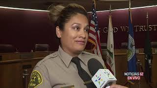 Nuevo ataque a sheriff en Lancaster – Noticias 62 - Thumbnail