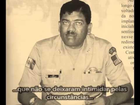 Homenagem aos ex-comandantes da PMAL