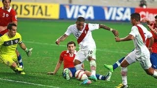Peru 1-0 Chile TV CHILENA Todas las jugadas de Peru