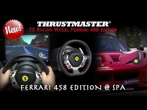 New Thrustmaster TX Wheel Ferrari 458 Edition + Test Forza 5 Ferrari 458 @ Spa (GoPro + Replay)