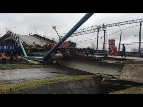 Ρωσία: Κατάρρευση γέφυρας πάνω στον Υπερσιβηρικό