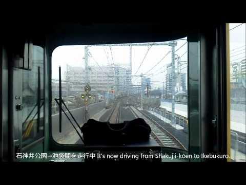 2前面展望 西武池袋線 快急 池袋行vol,2 Cab view of Seibu Ikebukuro line for Ikebukuro (видео)