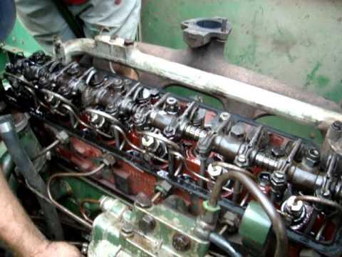 SLC 6200 - motor em  funcionamento - Maçambara - RS - Tiago Tamiozzo 2010