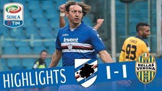 Video Sampdoria - Verona 2-0 - Highlights - Giornata 24 - Serie A TIM 2017/18 MP3, 3GP, MP4, WEBM, AVI, FLV Agustus 2018