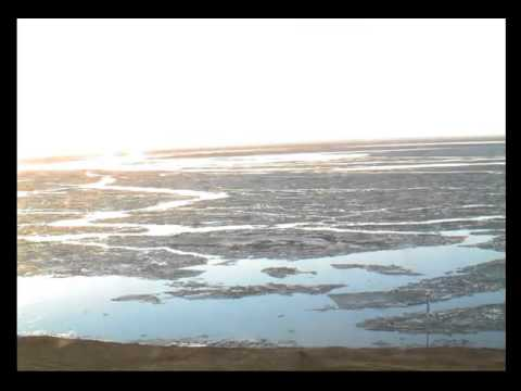Ice Tsunamis Lake Mille Lacs: Time Lapse of the Ice Pack May 14th 2013