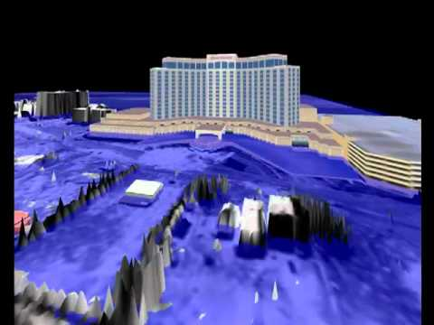 Visualization of Biloxi and the Effects of Hurricane Katrina Flood Waters - CHL