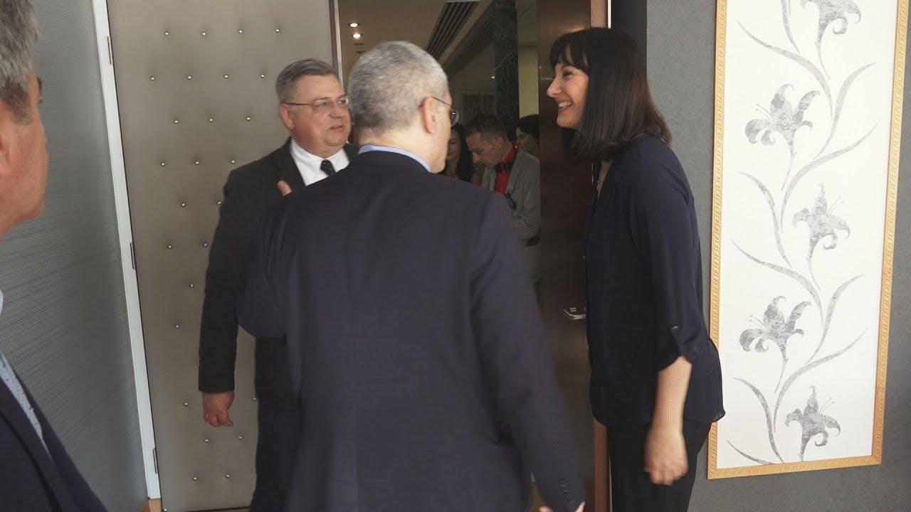 Επίσκεψη αντιπροσωπείας της Επιτροπής Μεταφορών και Τουρισμού του Ευρωπαϊκού Κοινοβουλίου