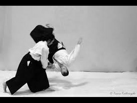 Randori from Great Masters of Aikido.