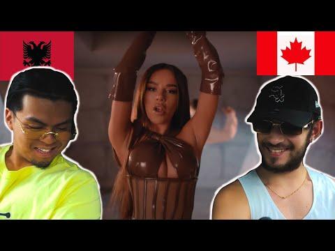 CANADIANS REACT TO ALBANIAN RAP - AZET x TAYNA - TI HARRO (prod. by Lucry & Suena)