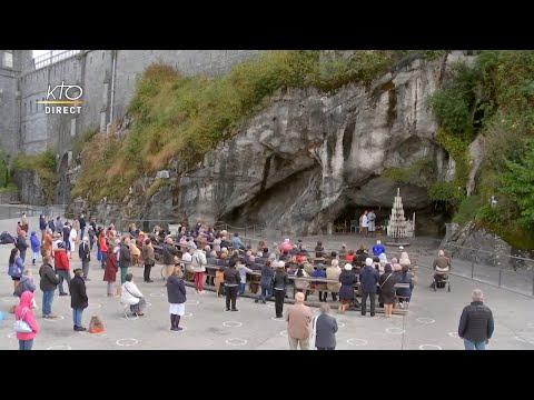 Chapelet du 27 septembre 2020 à Lourdes