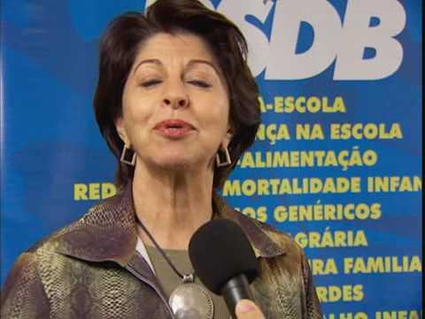 Senadora Marisa Serrano, vice-presidente do PSDB