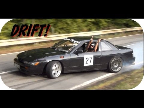 TROS - Amazing Nissan Silvia drift at the hillclimb of the Tros Marets 2013! *Don't forget to RATE for more :)