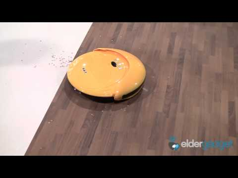 CES 2012 Video: Agait E-Clean EC01 Robot Vacuum Cleaner