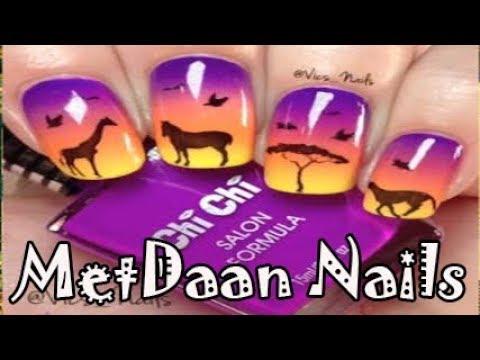 Nail designs - New Nail Art 2018  The Best Nail Art Designs Compilation (MetDaan Nails)