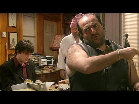 He's Leaving Home | Black Books | Season 1 Episode 6 | Dead Parrot