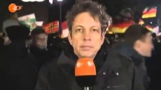 Stephane Simon stört Berichterstattung über Pegida bei ZDF heute