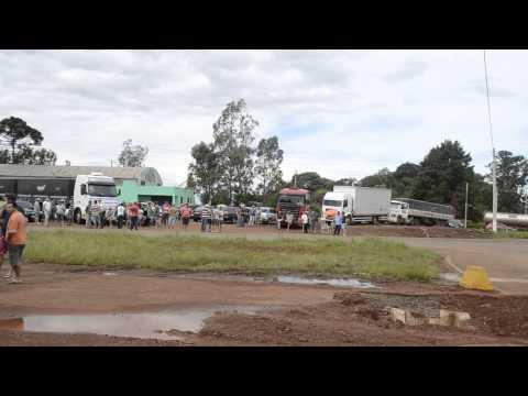 Greve dos caminhoneiros em Seberi