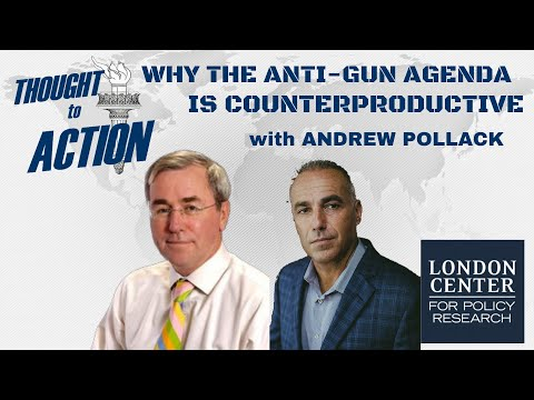 Why the Anti-Gun Agenda is Counterproductive - with Andrew Pollack