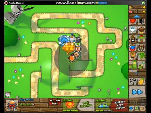 Bloons Tower Defense 5 recipe to Ultimate Sun God Temple Power!