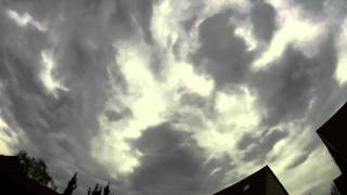 Timelapse Clouds GoPro Hero 3+ (Silver Edition) 4K Video