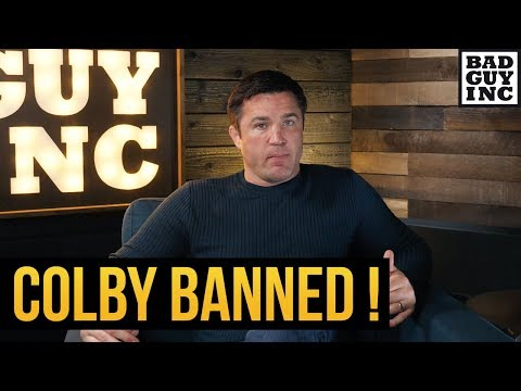 Colby Covington banned for Miesha Tate comments...