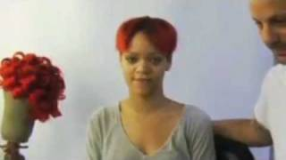 RIHANNA WITHOUT ANY MAKE UP & WIG !!!