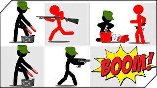 Stickman Army: The Defenders - жильцы города в панике: безжалостная армия расправляется со всеми, не щадя никого. Вся надежда на тебя, только ты можете создать свою команду защитников и не дать подлому врагу достичь своей цели. Самое главное в игре Stickman Army: The Defenders - это грамотная стратегия. Правильно сгруппированный отряд из небольшого количества воинов может сравнять с землёй целую армию врагов. Поэтому изучайте каждого воина, продумывайте тактику и победа с восторженными возгласами народа будут вашими!    Игра Stickman Army: The Defenders обзор и прохождение с Воблером. Развлекательной видео для детей  Stickman Army игра  как мультик. Лучшие игры на андроид на канале Воблер.                                  ▀ Подпишись на канал ➤ http://www.youtube.com/user/wobbler1t...▀ Подпишись на паблик VK ➤ http://vk.com/wobbler_game▀  ЗАКАЗАТЬ РЕКЛАМУ ➤ https://goo.gl/akqwOJНа канале ты увидишь: новинки игр 2017 года, симуляторы, песочницы, экшен-шутеры, различные инди игры. Самые топовые игры на андроид. А так же обзоры, летсплеи и прохождение игр на русском.