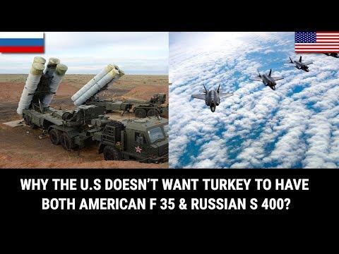 Video - Ουάσινγκτον: Οι τουρκικοί S-400 αποτελούν απειλή για τα αμερικανικά F-35