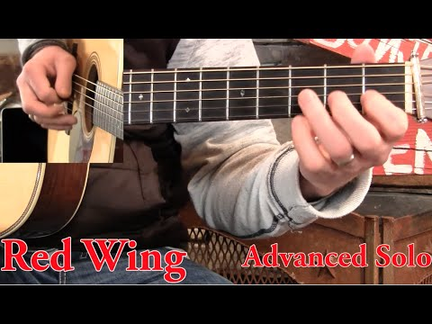 Red Wing on Guitar- Basic Melody & Advanced!