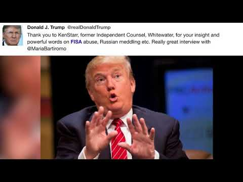 Thank you quotes - @realDonaldTrump - Thank you to KenStarr, former Independent ...