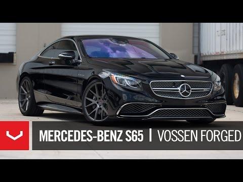 Mercedes-Benz S65 Coupe   V-12 BiTurbo   Vossen Forged VPS-306