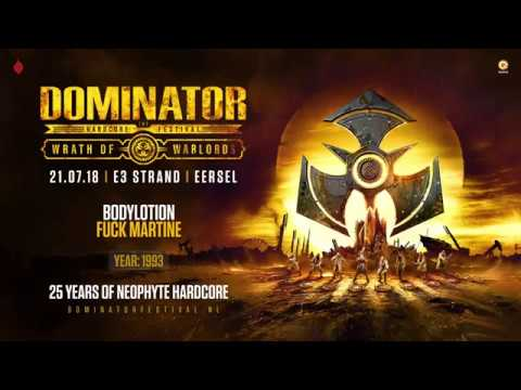 Neopthyte 25 Years Of Hardcore | Dominator 2018