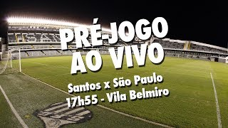 É de dia de clássico na Vila Belmiro! O Santos FC recebe o São Paulo, pelo Brasileirão, e você já começa a sentir o clima deste grande jogo antes da bola rolar, com o Pré-jogo AO VIVO da Santos TVInscreva-se na Santos TV e fique por dentro de todas as novidades do Santos e de seus ídolos! http://bit.ly/146NHFUConheça o site oficial do Santos FC: www.santosfc.com.brCurta nossa página no facebook: http://on.fb.me/hmRWEqSiga-nos no Instagram: http://bit.ly/1Gm9RCSSiga-nos no twitter: http://bit.ly/YC1k82Siga-nos no Google+: http://bit.ly/WxnwF8Veja nossas fotos no flickr: http://bit.ly/cnD21USobre a Santos TV: A Santos TV é o canal oficial do Santos Futebol Clube. Esteja com os seus ídolos em todos os momentos. Aqui você pode assistir aos bastidores das partidas, aos gols, transmissões ao vivo, dribles, aprender sobre o funcionamento do clube, assistir a vídeos exclusivos, relembrar momentos históricos da história com Pelé, Pepe, e grandes nomes que só o Santos poderia ter.Inscreva-se agora e não perca mais nenhum vídeo! www.youtube.com/santostvoficial-------------------------------------------------------------** Subscribe now and stay connected to Santos FC and your idols everyday!http://bit.ly/146NHFUVisit Santos FC official website: www.santosfc.com.brLike us on facebook: http://on.fb.me/hmRWEqFollow us on Instagram: http://bit.ly/1Gm9RCSFollow us on twitter: http://bit.ly/YC1k82Follow us on Google+: http://bit.ly/WxnwF8See our photos on flickr: http://bit.ly/cnD21UAbout Santos TV: Santos TV is the official Santos FC channel. Here you can be with your idols all the time. Watch behind the scenes, goals, live broadcasts, hability skills, learn how the club works, exclusive videos, remember historical moments with Pelé, Pepe and all of the awesome players that just Santos FC could have. Subscribe now and never miss a video again! www.youtube.com/santostvoficial