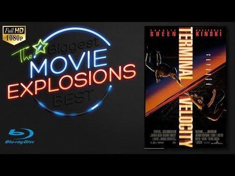 The Best movie explosions: Terminal Velocity (1994) Escape pod scene