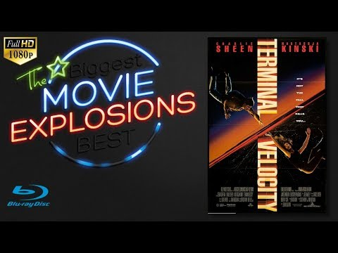 The Best Movie Explosions: Terminal Velocity (1994) Escape Pod Scene