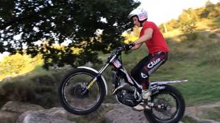 8. Beta Evo 300  Trial SlowMotion Action Jarmo Robrahn Part 2 #BetaRacing
