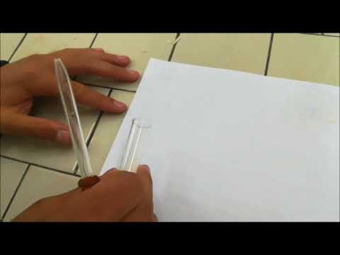 lipid test (grease spot test)
