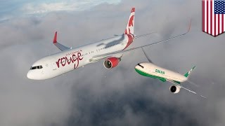 Video Dua pesawat nyaris bertabrakan karena pusat kontrol bandara salah memberikan arah - Tomonews MP3, 3GP, MP4, WEBM, AVI, FLV Juni 2017