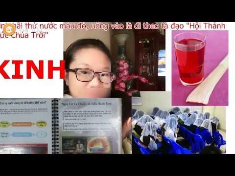HỘI THÁNH ĐỨC CHÚA TRỜI: Uống nước thánh đỏ vứt bỏ tổ tiên