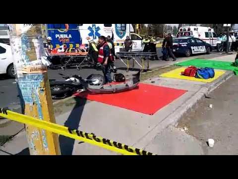 Conductor de un Chevy provoca brutal accidente - Abril 13