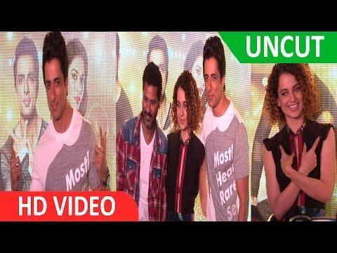 UNCUT: SONU SOOD & KANGANA RANAUT AT SONG LAUNCH OF FILM TUTAK TUTAK TUTIYA