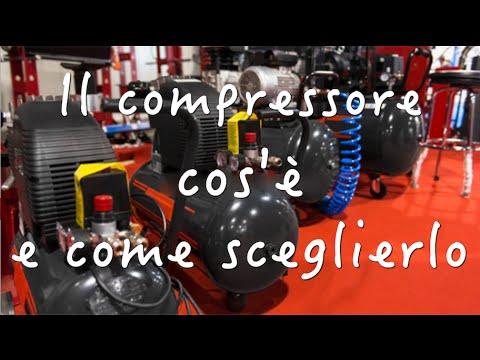 Il compressore - cos'è e come sceglierlo