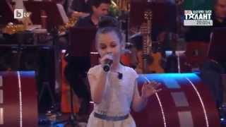 Amazing 9 years old Singer! Krisia Todorova - When You Believe - YouTube