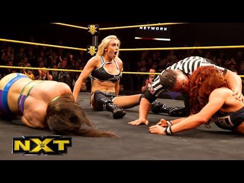 Charlotte vs. Bayley vs. Becky Lynch – No. 1 Contender's Match: WWE NXT, April 22, 2015